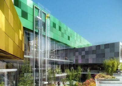 Construction d'une médiathèque à Angoulême