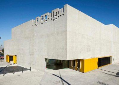 Construction de la salle de spectacle le Métronum à Toulouse