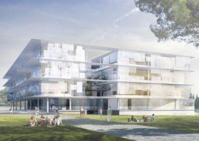 Opération ATRIUM de l'Université Paul Valéry à Montpellier (34)