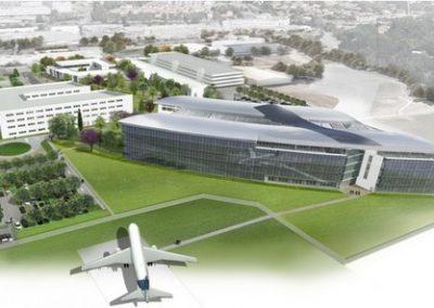 Construction du siège social Airbus à Blagnac (31)