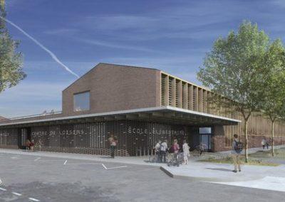 Construction du 2eme groupe scolaire à Cugnaux (31)